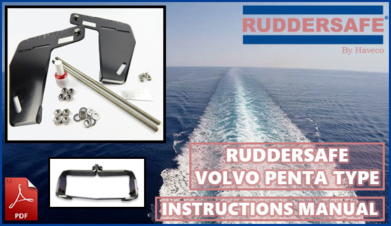 Ruddersafe - Volvo Penta Type - Instructions Manual